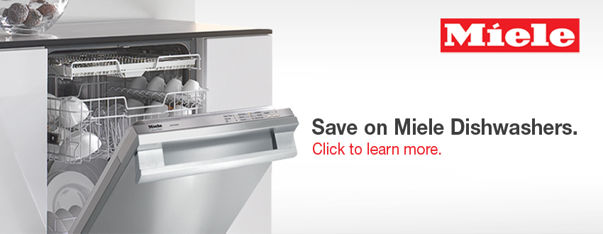 Click to learn about Miele dishwashers available through Design First Interiors